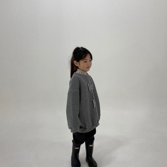 MELONSWITCH - Korean Children Fashion - #Kfashion4kids - High Long Sweatshirt - 9
