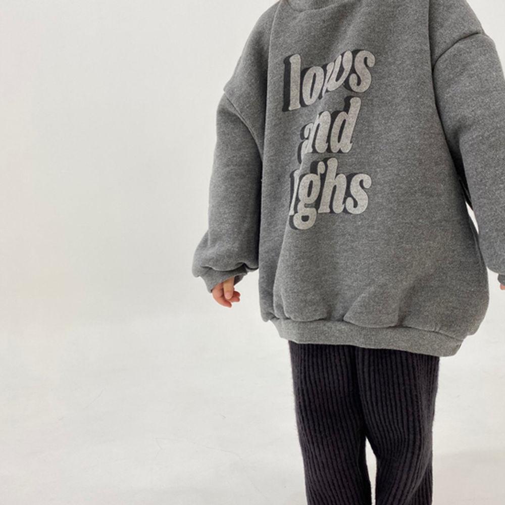 MELONSWITCH - BRAND - Korean Children Fashion - #Kfashion4kids - High Long Sweatshirt