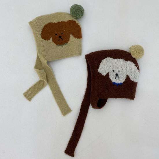 MELONSWITCH - Korean Children Fashion - #Kfashion4kids - Puppy Hat - 3