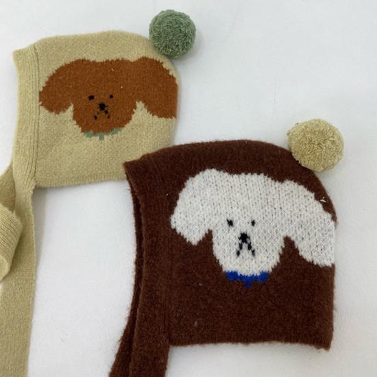 MELONSWITCH - Korean Children Fashion - #Kfashion4kids - Puppy Hat - 4