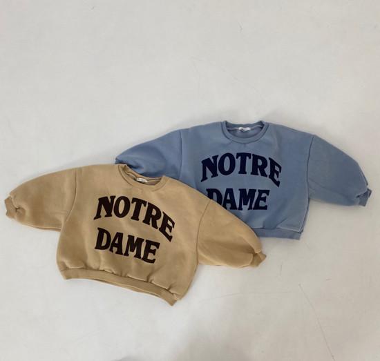 MELONSWITCH - Korean Children Fashion - #Kfashion4kids - Notre Dame Sweatshirt