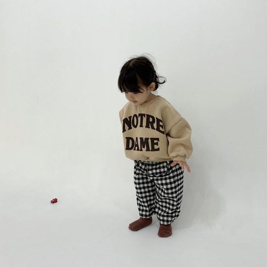 MELONSWITCH - Korean Children Fashion - #Kfashion4kids - Notre Dame Sweatshirt - 2