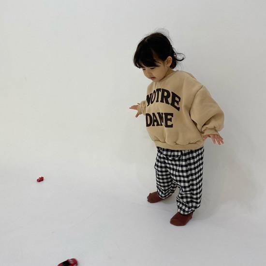 MELONSWITCH - Korean Children Fashion - #Kfashion4kids - Notre Dame Sweatshirt - 4