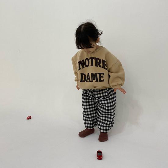 MELONSWITCH - Korean Children Fashion - #Kfashion4kids - Notre Dame Sweatshirt - 5