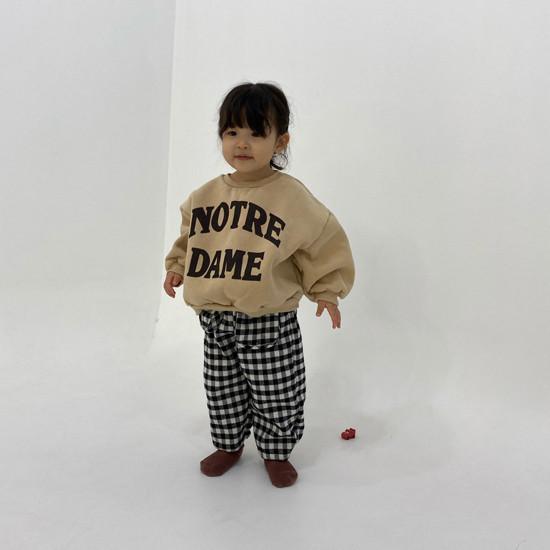 MELONSWITCH - Korean Children Fashion - #Kfashion4kids - Notre Dame Sweatshirt - 6