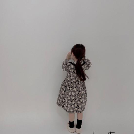 MELONSWITCH - Korean Children Fashion - #Kfashion4kids - Bear Cake Bonding One-piece - 4
