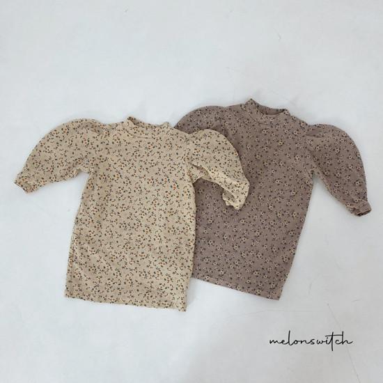 MELONSWITCH - Korean Children Fashion - #Kfashion4kids - Alice Puff One-piece