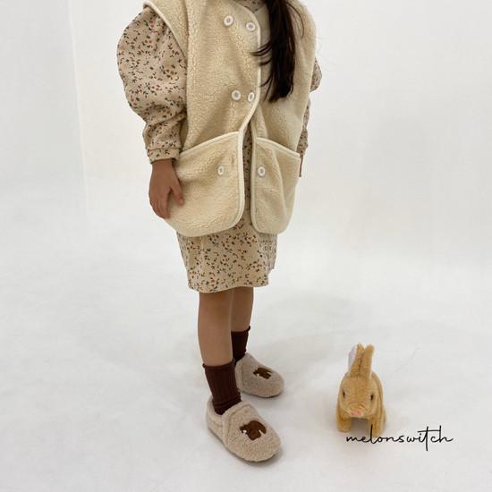 MELONSWITCH - Korean Children Fashion - #Kfashion4kids - Alice Puff One-piece - 10