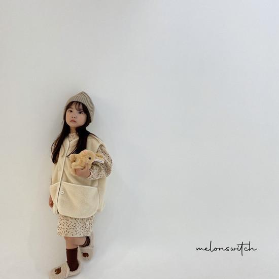 MELONSWITCH - Korean Children Fashion - #Kfashion4kids - Alice Puff One-piece - 11