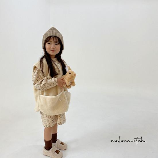 MELONSWITCH - Korean Children Fashion - #Kfashion4kids - Alice Puff One-piece - 12