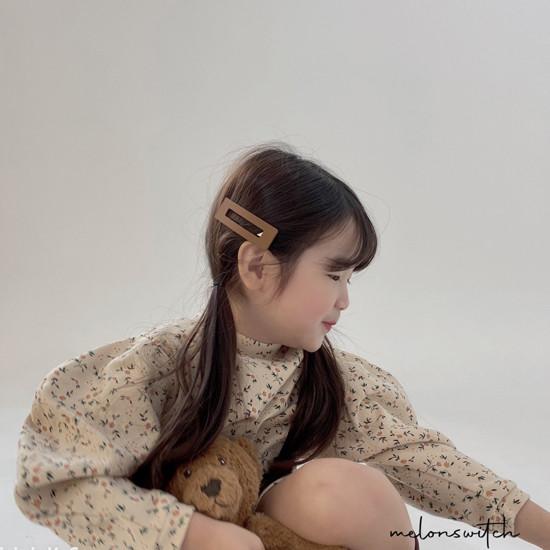 MELONSWITCH - Korean Children Fashion - #Kfashion4kids - Alice Puff One-piece - 2