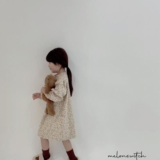 MELONSWITCH - Korean Children Fashion - #Kfashion4kids - Alice Puff One-piece - 4