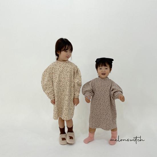 MELONSWITCH - Korean Children Fashion - #Kfashion4kids - Alice Puff One-piece - 5