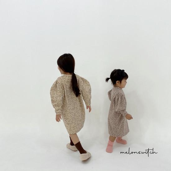 MELONSWITCH - Korean Children Fashion - #Kfashion4kids - Alice Puff One-piece - 7