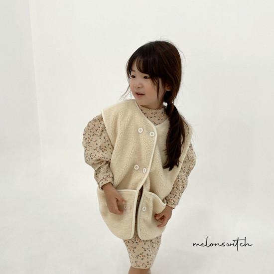 MELONSWITCH - Korean Children Fashion - #Kfashion4kids - Alice Puff One-piece - 8