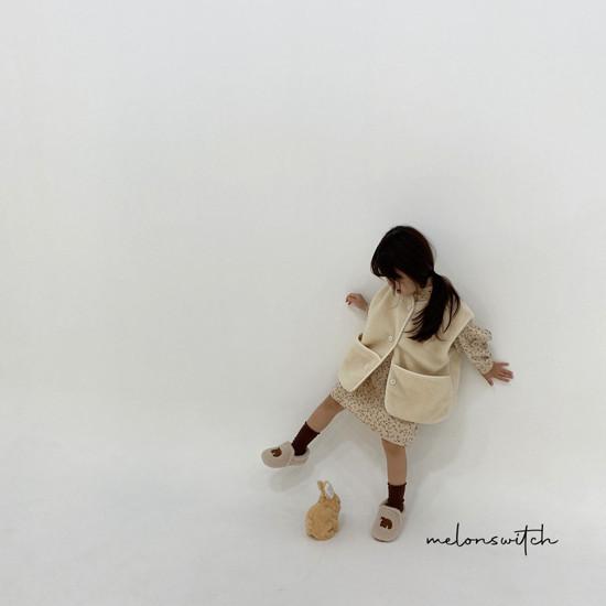 MELONSWITCH - Korean Children Fashion - #Kfashion4kids - Alice Puff One-piece - 9
