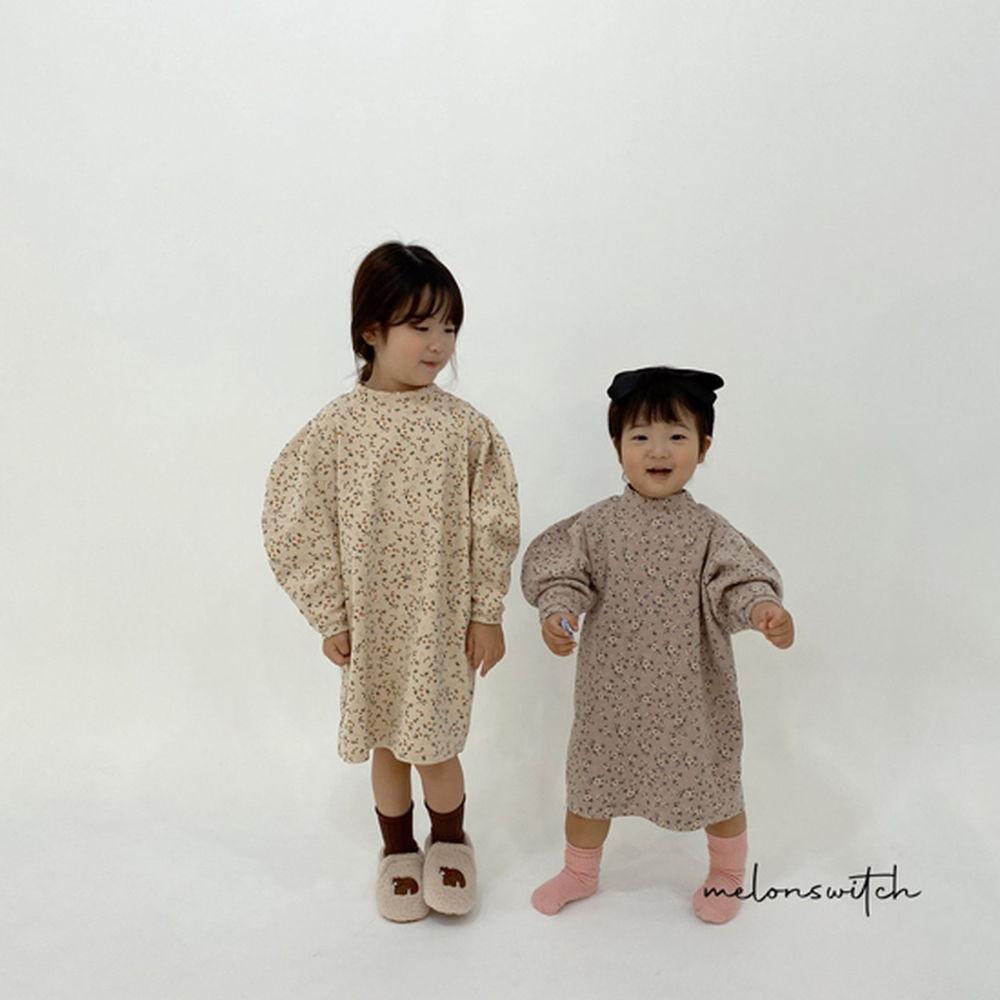 MELONSWITCH - BRAND - Korean Children Fashion - #Kfashion4kids - Alice Puff One-piece