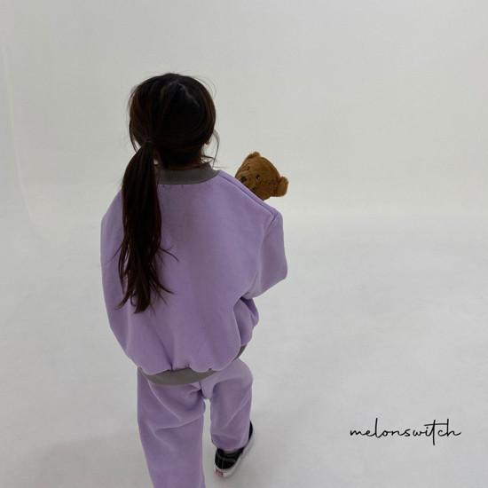 MELONSWITCH - Korean Children Fashion - #Kfashion4kids - Bear Top Bottom Set - 11