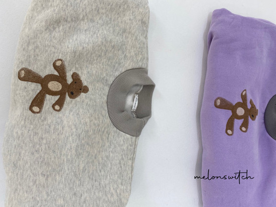 MELONSWITCH - Korean Children Fashion - #Kfashion4kids - Bear Top Bottom Set - 12