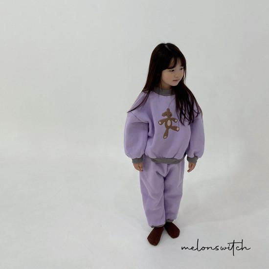 MELONSWITCH - Korean Children Fashion - #Kfashion4kids - Bear Top Bottom Set - 8