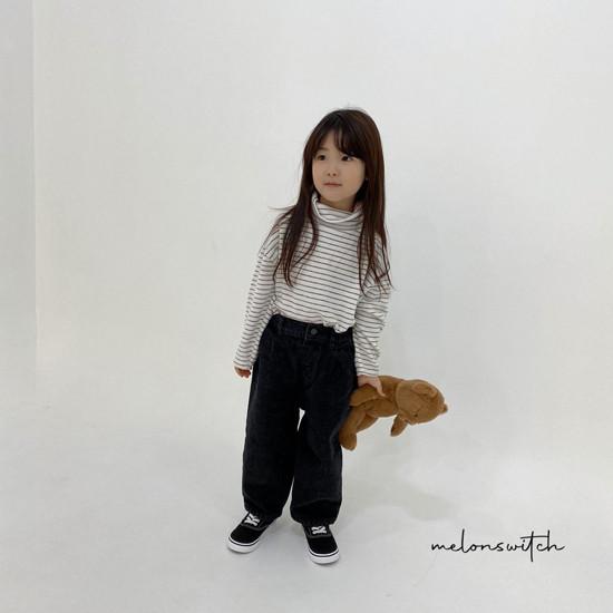MELONSWITCH - Korean Children Fashion - #Kfashion4kids - Whipping Cream Turtleneck Tee - 3