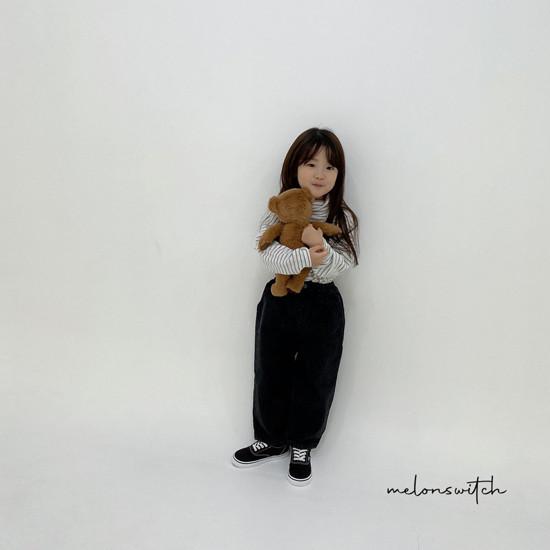 MELONSWITCH - Korean Children Fashion - #Kfashion4kids - Whipping Cream Turtleneck Tee - 4