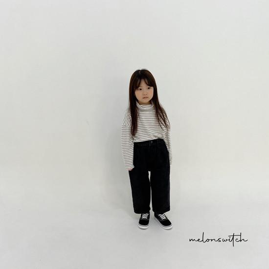 MELONSWITCH - Korean Children Fashion - #Kfashion4kids - Whipping Cream Turtleneck Tee - 5