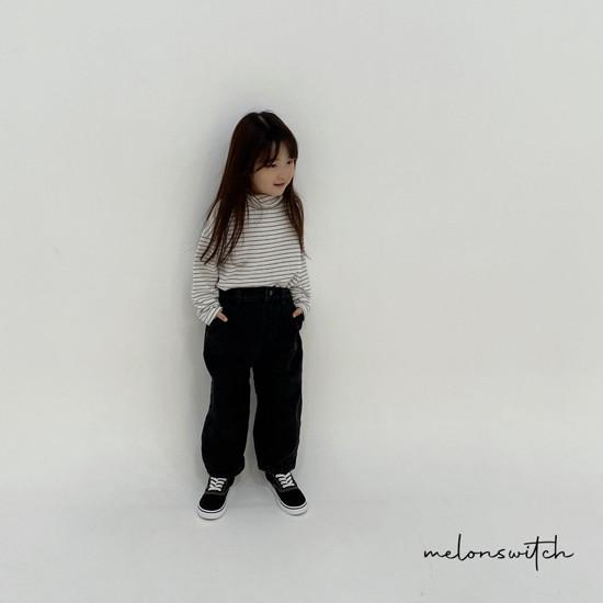 MELONSWITCH - Korean Children Fashion - #Kfashion4kids - Whipping Cream Turtleneck Tee - 7