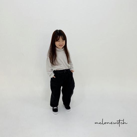 MELONSWITCH - Korean Children Fashion - #Kfashion4kids - Whipping Cream Turtleneck Tee - 8