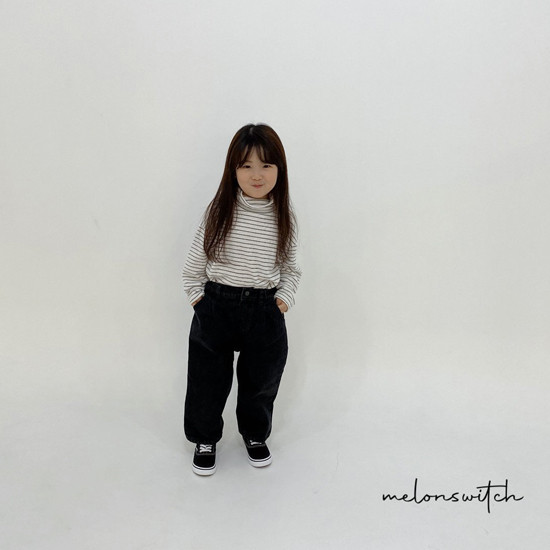 MELONSWITCH - Korean Children Fashion - #Kfashion4kids - Whipping Cream Turtleneck Tee - 9