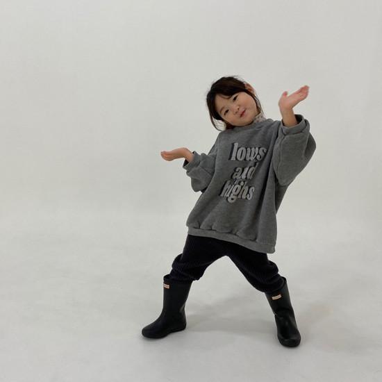 MELONSWITCH - Korean Children Fashion - #Kfashion4kids - Fleeced Stretchy Pants - 10