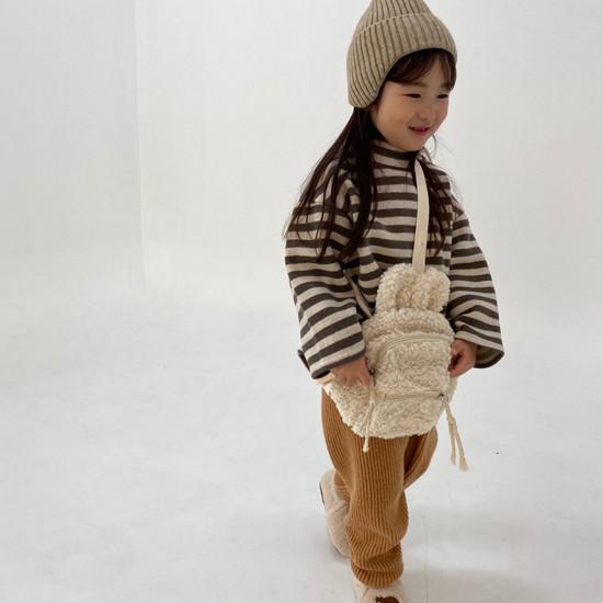 MELONSWITCH - Korean Children Fashion - #Kfashion4kids - Fleeced Stretchy Pants - 5