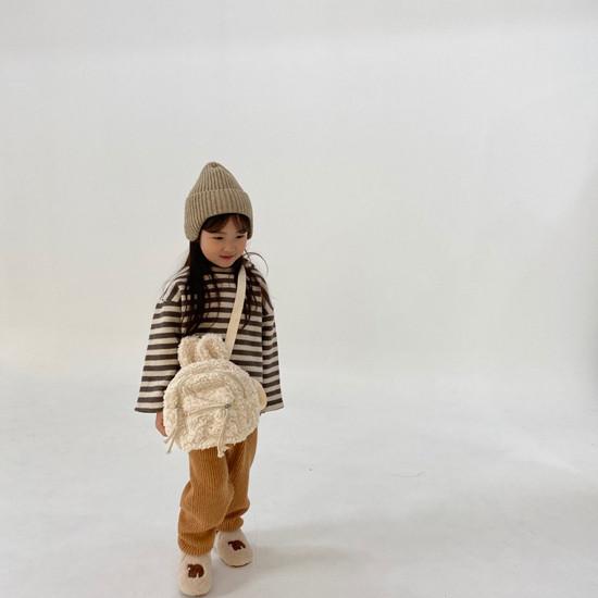 MELONSWITCH - Korean Children Fashion - #Kfashion4kids - Fleeced Stretchy Pants - 6