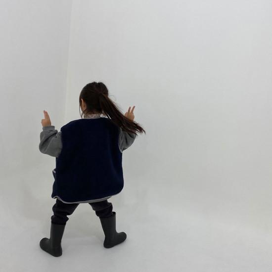 MELONSWITCH - Korean Children Fashion - #Kfashion4kids - Fleeced Stretchy Pants - 9