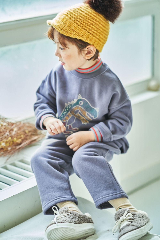 MIMICO - Korean Children Fashion - #Kfashion4kids - Dino Top Bottom Set - 10