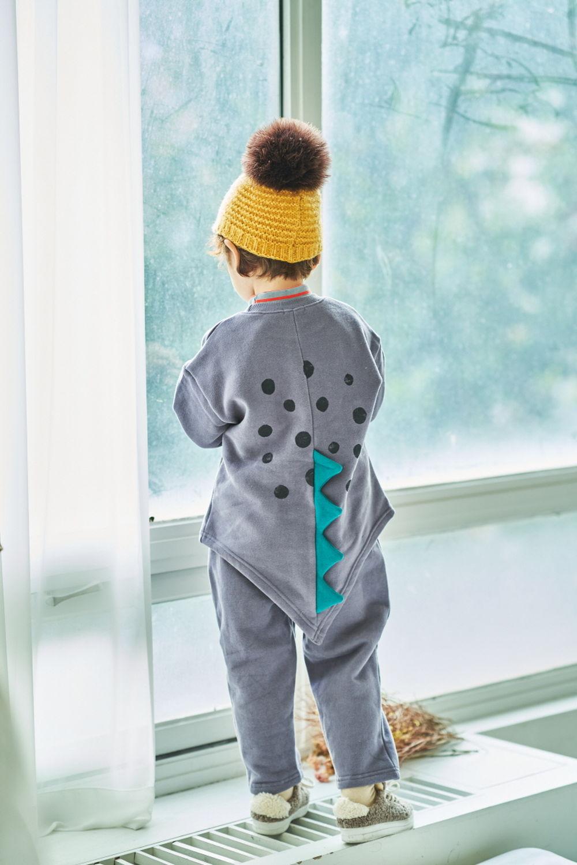 MIMICO - Korean Children Fashion - #Kfashion4kids - Dino Top Bottom Set - 12