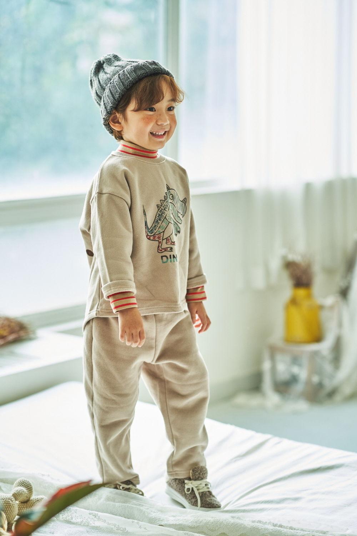 MIMICO - Korean Children Fashion - #Kfashion4kids - Dino Top Bottom Set - 2