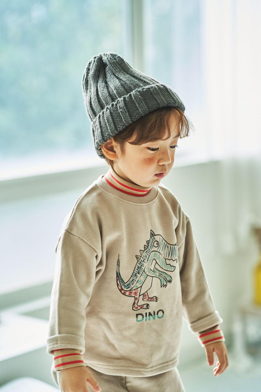 MIMICO - Korean Children Fashion - #Kfashion4kids - Dino Top Bottom Set - 3