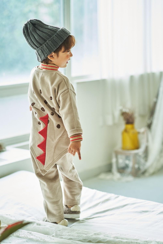MIMICO - Korean Children Fashion - #Kfashion4kids - Dino Top Bottom Set - 6