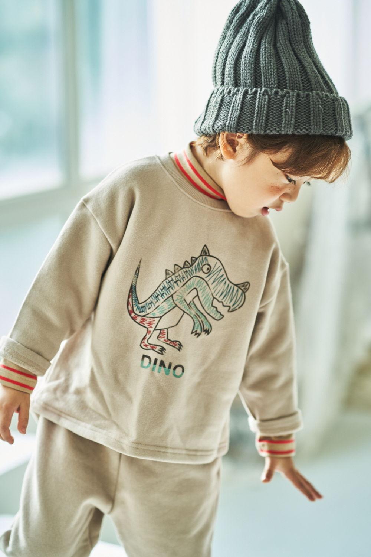 MIMICO - Korean Children Fashion - #Kfashion4kids - Dino Top Bottom Set - 8