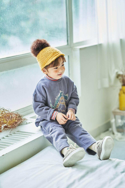 MIMICO - Korean Children Fashion - #Kfashion4kids - Dino Top Bottom Set - 9
