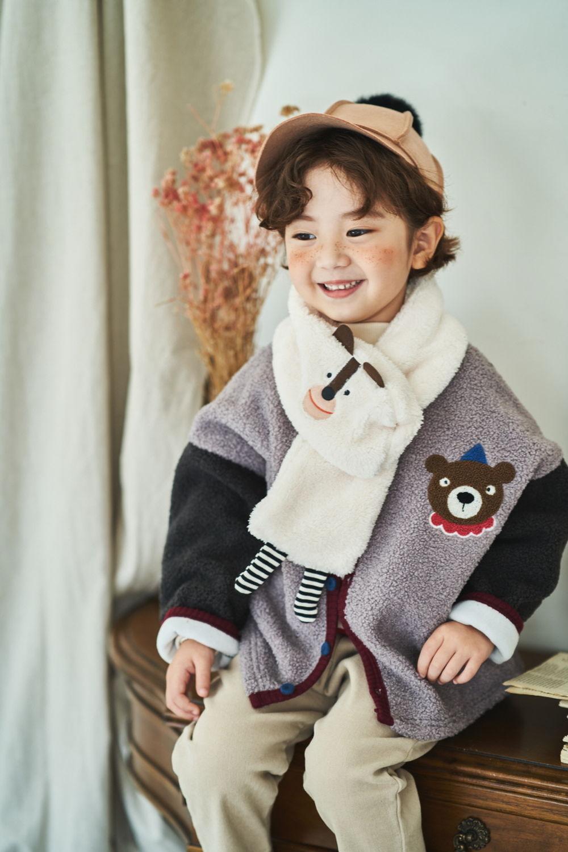 MIMICO - Korean Children Fashion - #Kfashion4kids - Animal Muffler