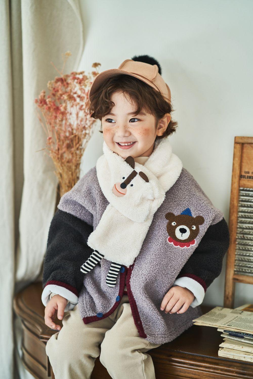 MIMICO - Korean Children Fashion - #Kfashion4kids - Animal Muffler - 2