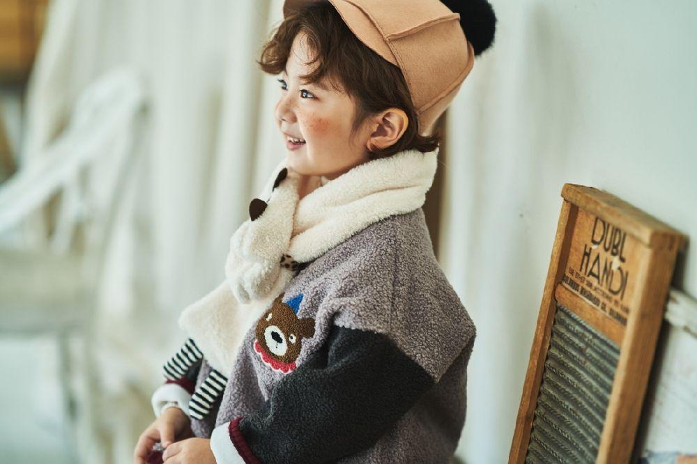 MIMICO - Korean Children Fashion - #Kfashion4kids - Animal Muffler - 3