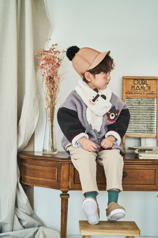 MIMICO - Korean Children Fashion - #Kfashion4kids - Animal Muffler - 5