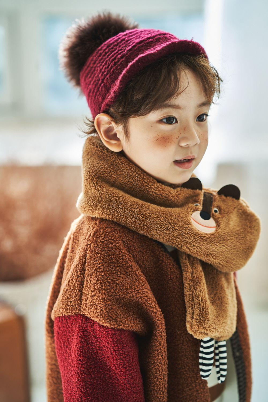 MIMICO - Korean Children Fashion - #Kfashion4kids - Animal Muffler - 7