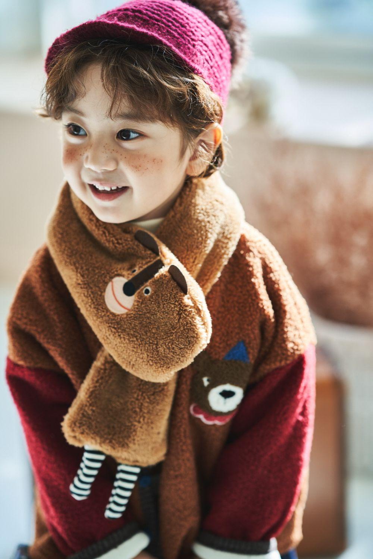 MIMICO - Korean Children Fashion - #Kfashion4kids - Animal Muffler - 8