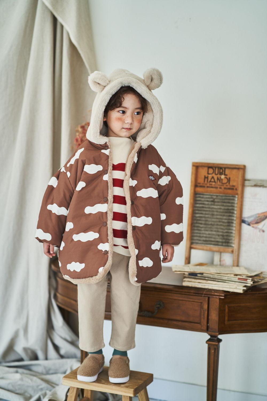 MIMICO - Korean Children Fashion - #Kfashion4kids - Bear Reversible Jumper