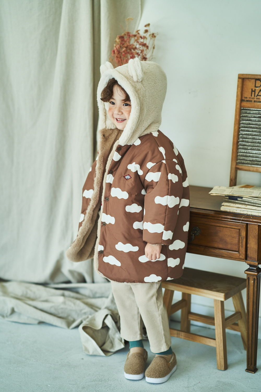 MIMICO - BRAND - Korean Children Fashion - #Kfashion4kids - Bear Reversible Jumper