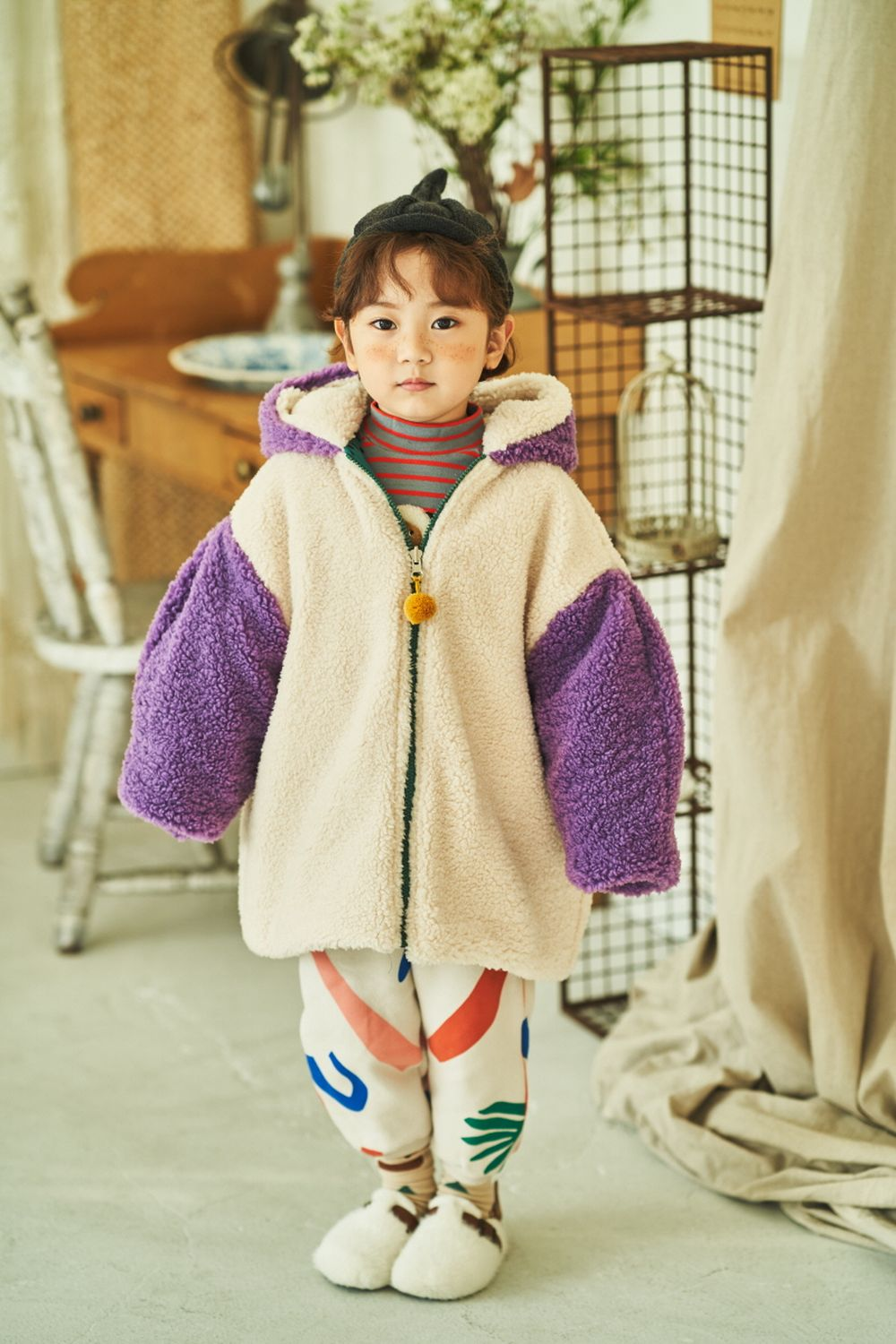 MIMICO - Korean Children Fashion - #Kfashion4kids - Piping Print Pants - 2